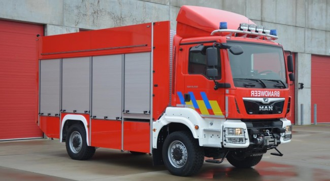Materiaalwagen voor Zone Vlaams-Brabant Oost – Post Diest