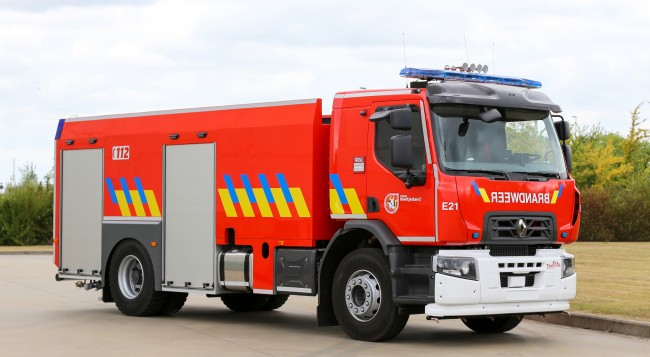Nieuwe tankwagens 8500 liter voor Hulpverleningszone Meetjesland