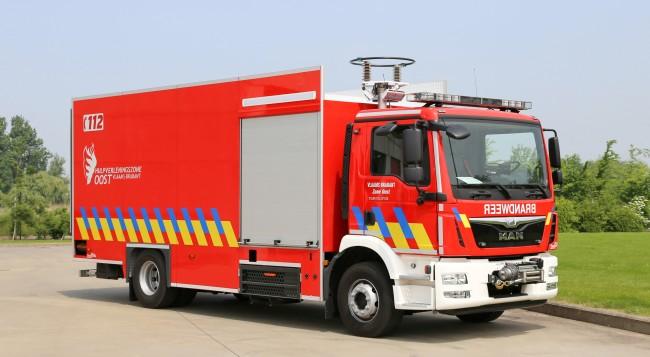 Materiaalwagen HVZ Vlaams-Brabant Oost – Post Leuven