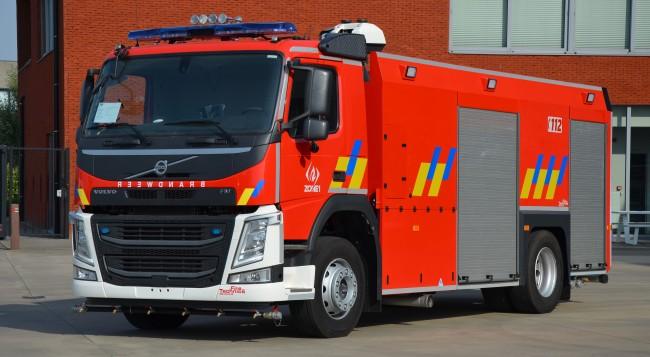 Nieuwe tankwagen 8.500l voor Huplverleningszone 1