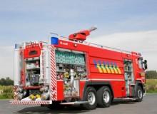 Industriële schuimautopomp (Antwerpen) achter