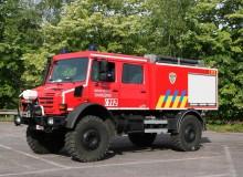 Charleroi bosbrandvoertuig