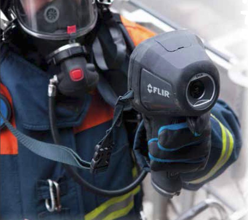 Nieuwe warmtebeeldcamera s voor Brandweer Haaglanden