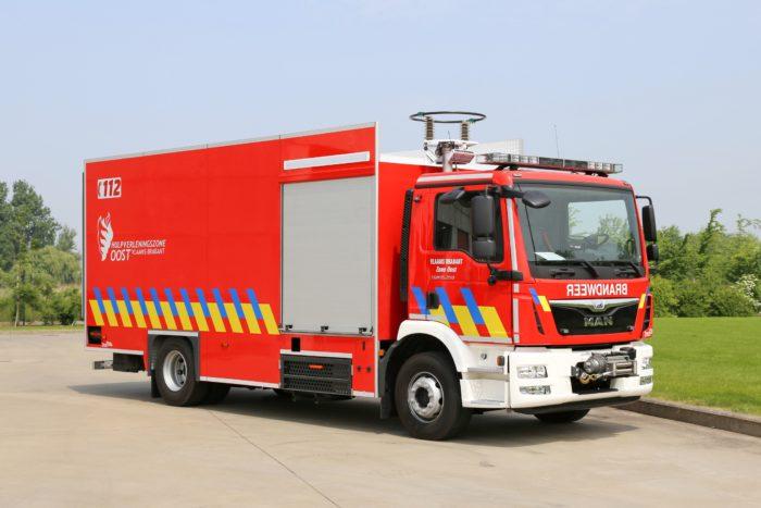 materiaalwagen Leuven
